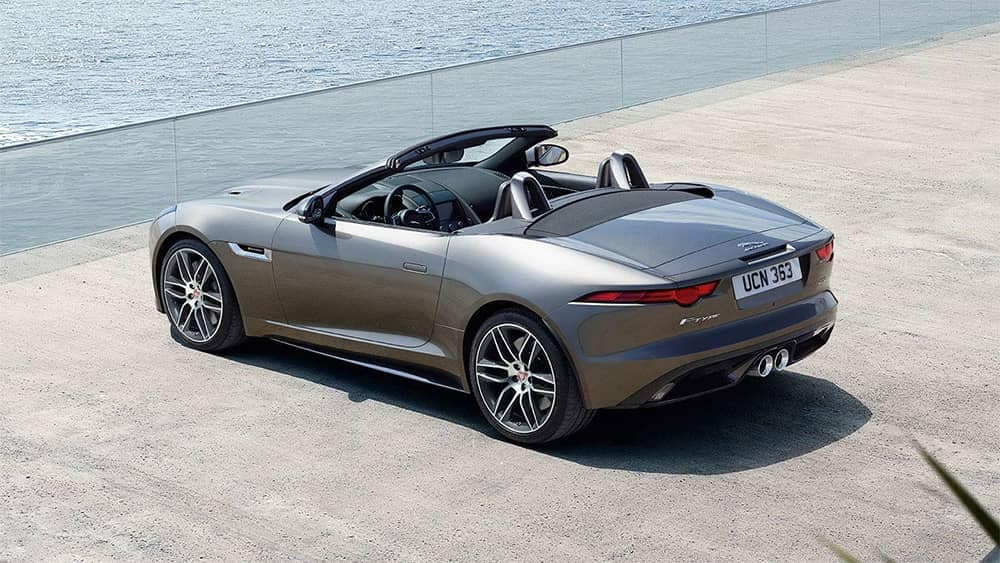 2020 Jaguar F-Type Top down