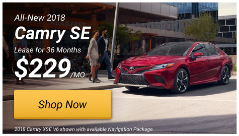 Camry SE Special