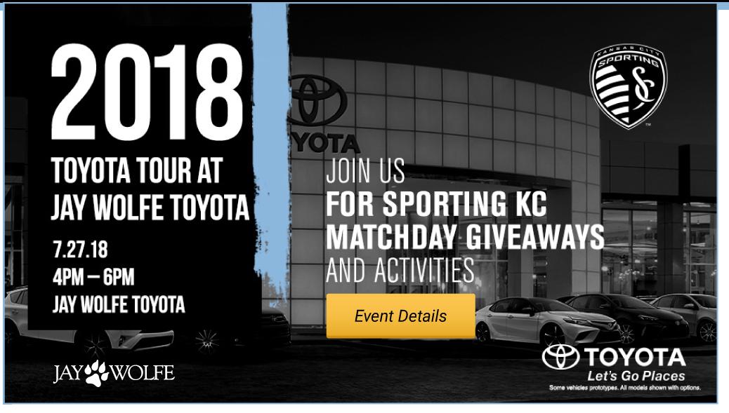 2018 Toyota Tour