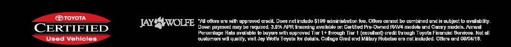 Certified Pre-Owned APR Financing