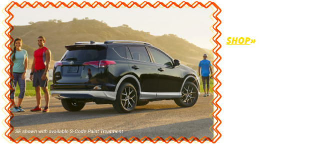 Shop the All-New 2018 RAV4 LE