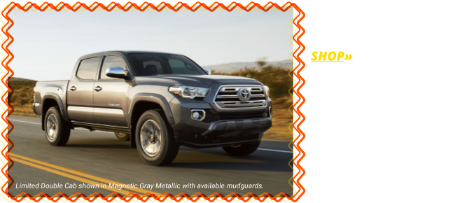 Shop the All-New 2018 Tacoma SR