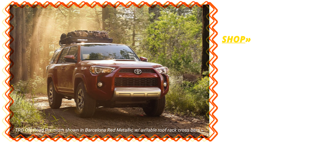 Shop the All-New 2018 4Runner SR5