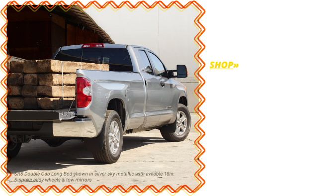 Shop the All-New 2018 Tundra SR