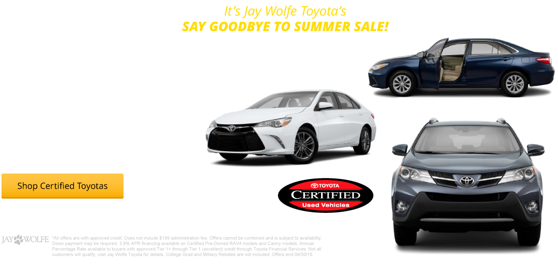 All Certified Pre-Owned Camrys & RAV4s