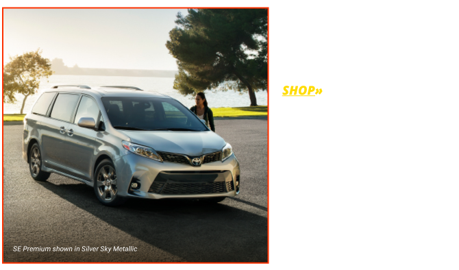 Shop the All-New 2018 Sienna LE