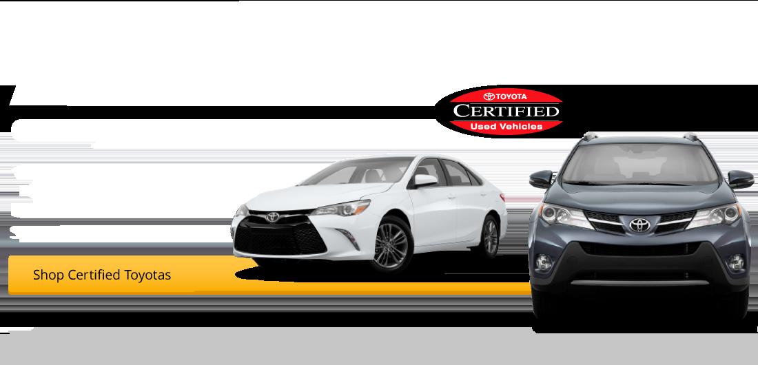 All Certified Pre-Owned Camrys & RAV4s