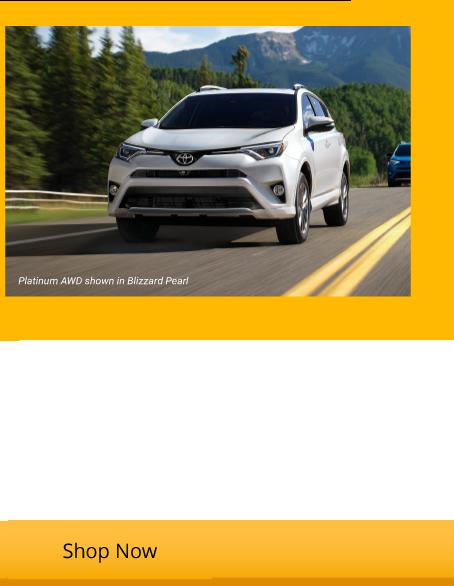 New 2018 RAV4 LE Starting from $22,241
