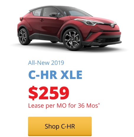 All-New 2019 C-HR XLE