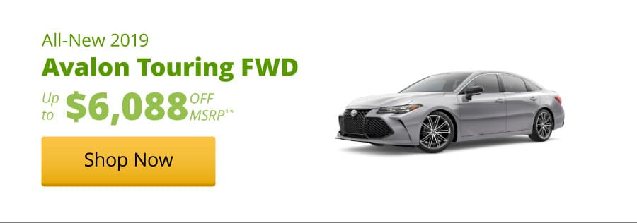 All-New 2019 Avalon Touring FWD