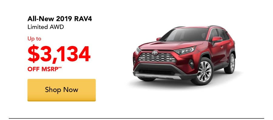 All-New 2019 RAV4 Limited AWD