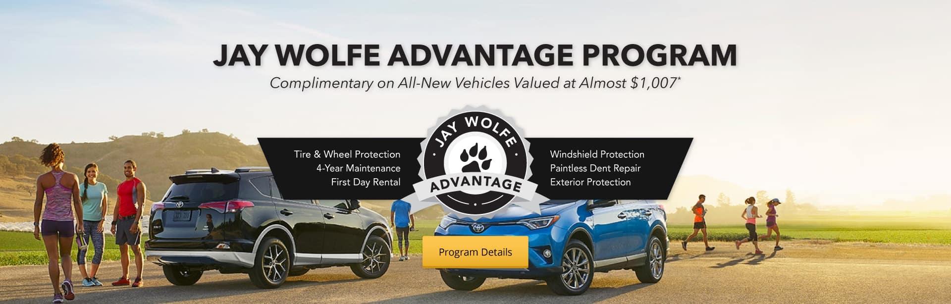 Jay Wolfe Advantage Program