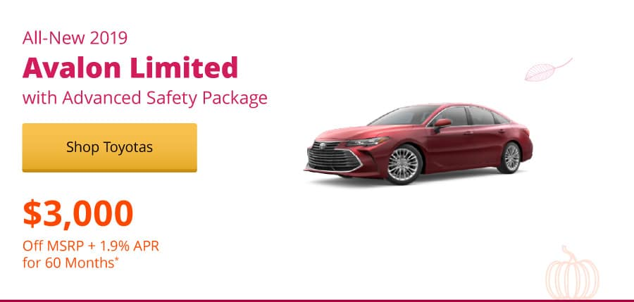 New 2019 Avalon Limited with Advance Safety