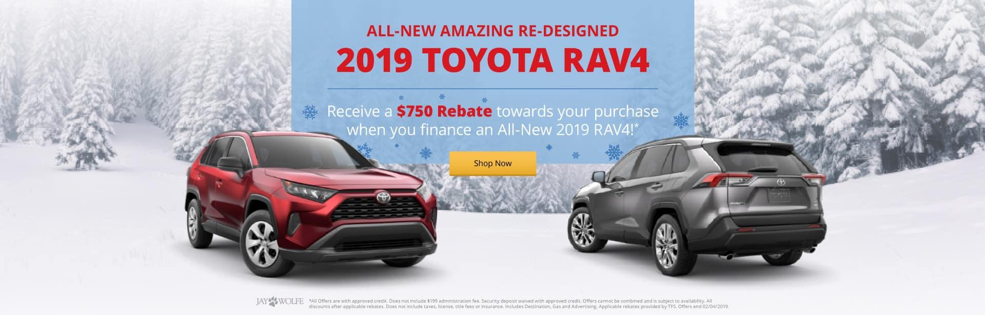 The All-New 2019 Toyota RAV4