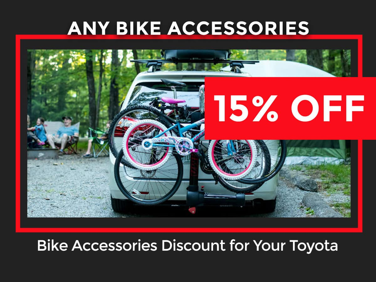Toyota Bike Accessories Discount