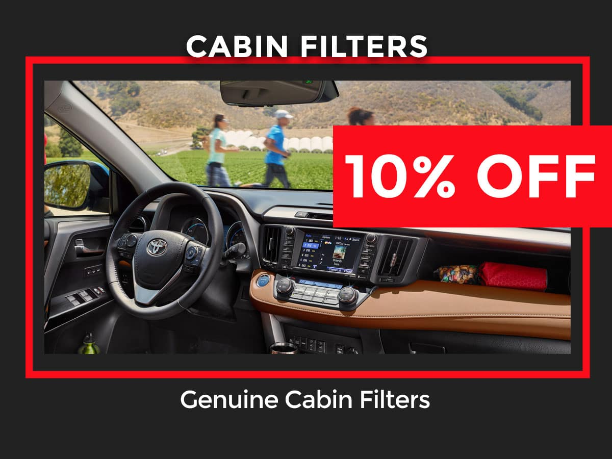 Toyota Cabin Air Filter Part Special