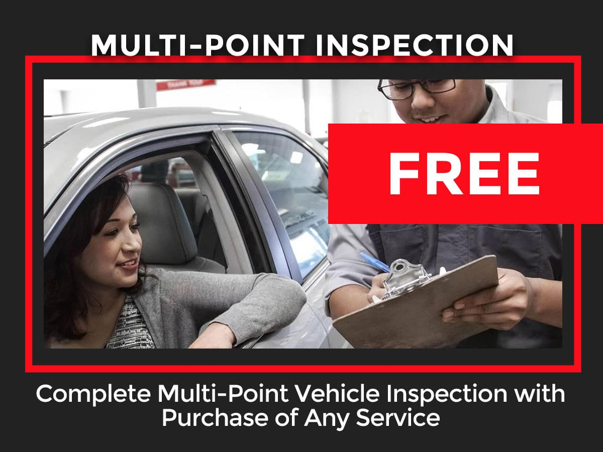 Toyota Multi-Point Inspection