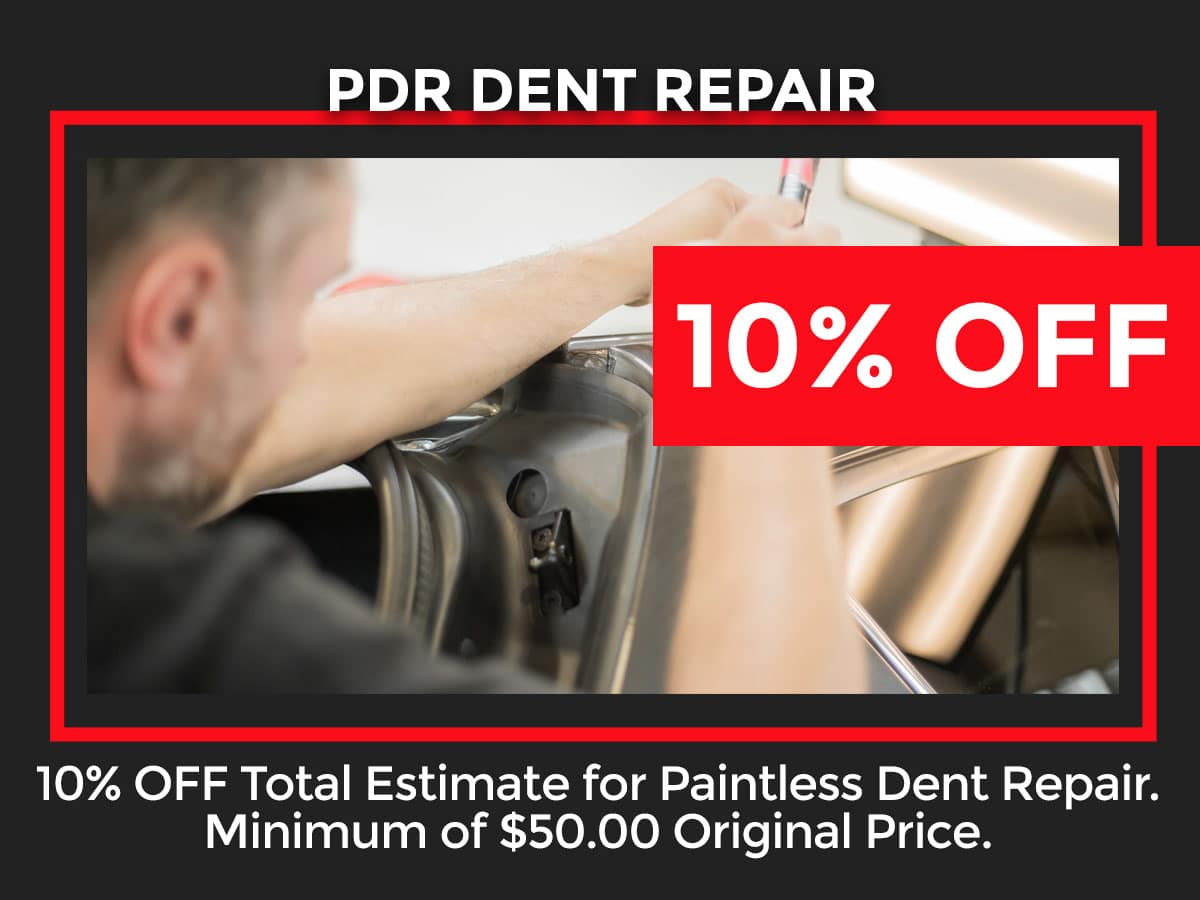 Toyota Paintless Dent Repair Special