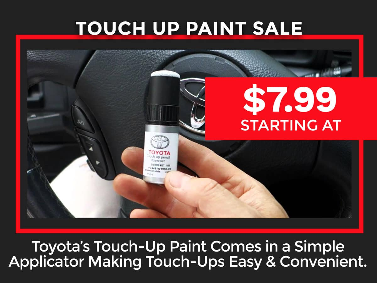 Toyota Touch Up Paint Coupon