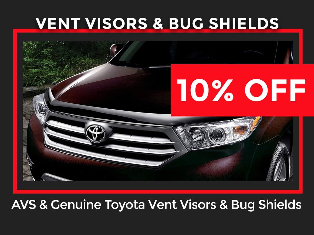 Toyota Parts & Accessories Specials in West County | Jay