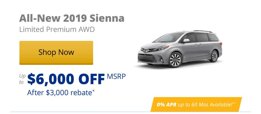 All-New 2019 Sienna Limited Premium AWD