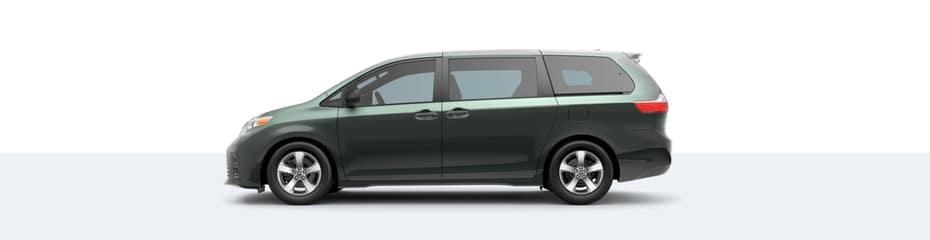 2020 Toyota Sienna in Alumina Jade Metallic