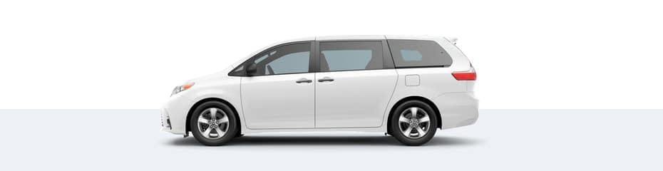 2020 Toyota Sienna in Super White