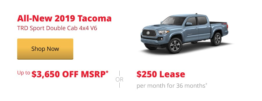 All-New 2019 Tacoma TRD Sport Double Cab 4x4