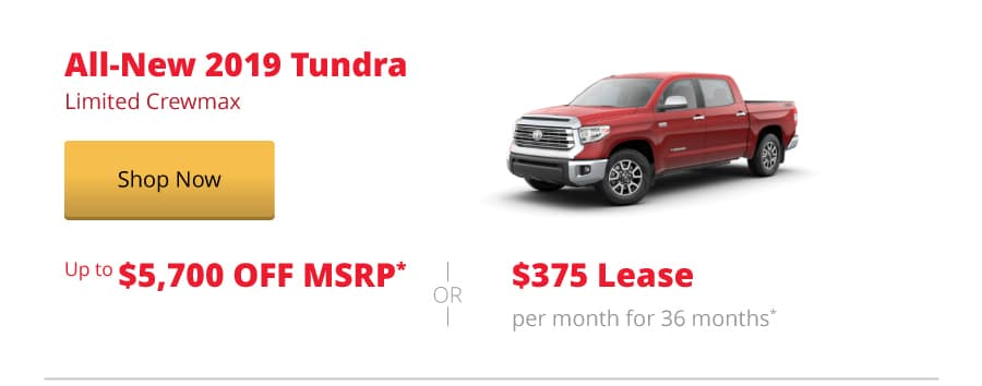 All-New 2019 Tundra Limited Crewmax