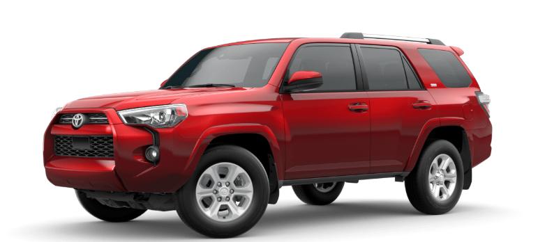 2020 Toyota 4Runner Barcelona Red Metallic