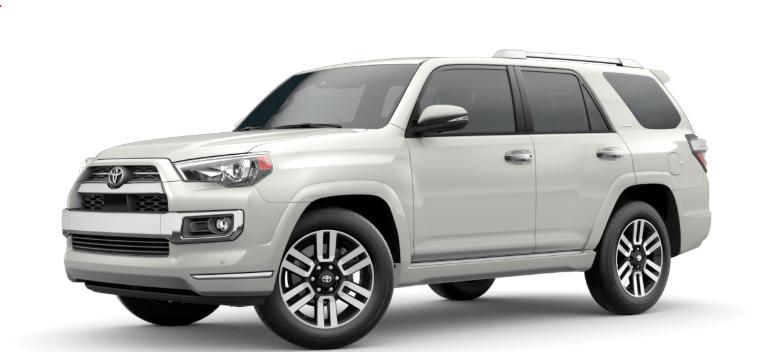 2020 Toyota 4Runner Blizzard Pearl