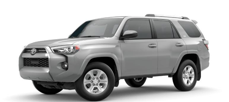 2020 Toyota 4Runner Magnetic Gray Metallic
