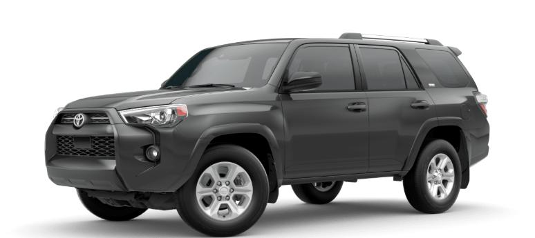 2020 Toyota 4Runner Midnight Black Metallic