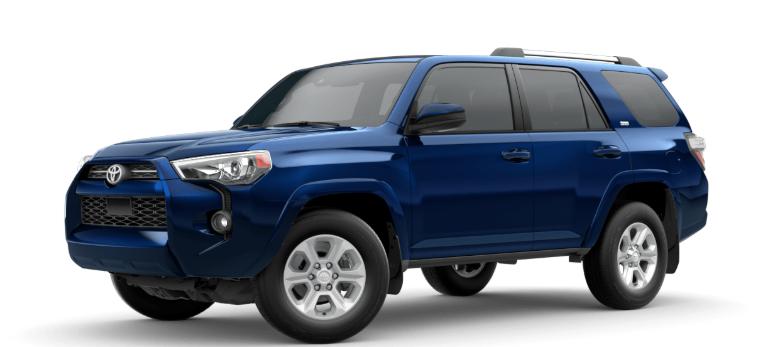 2020 Toyota 4Runner Nautical Blue Metallic
