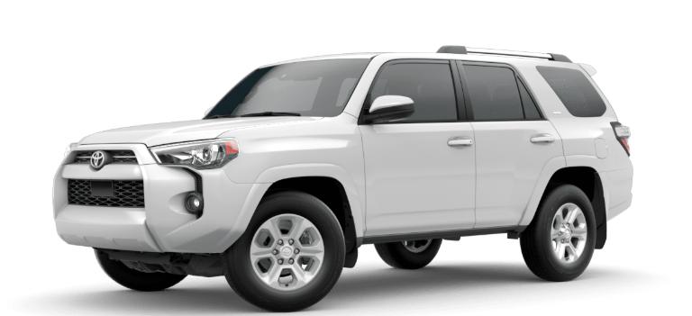 2020 Toyota 4Runner Super White