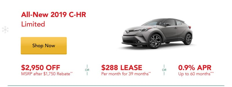 All-New 2019 C-HR Limited