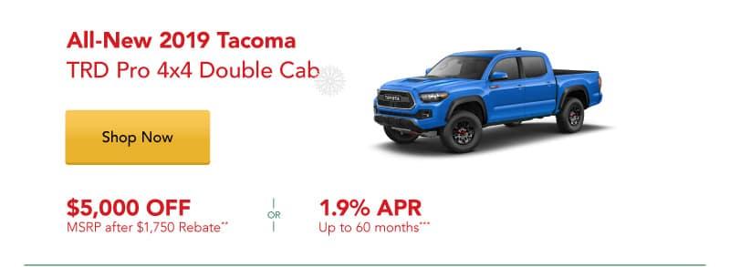 All-New 2019 Tacoma TRD Pro 4x4