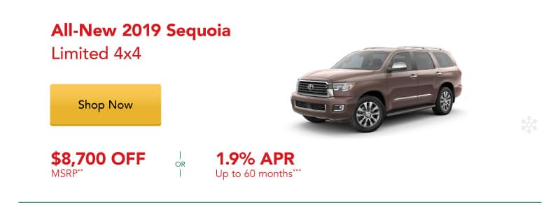 All-New 2019 Sequoia Limited 4x4