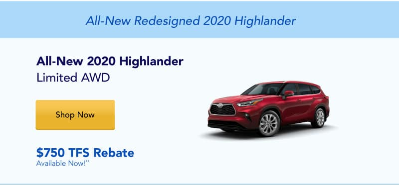 All-New 2020 Highlander Limited AWD
