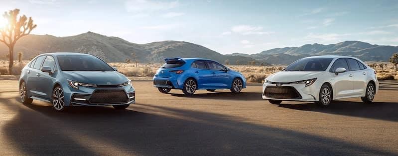 2020 Toyota Corolla Models