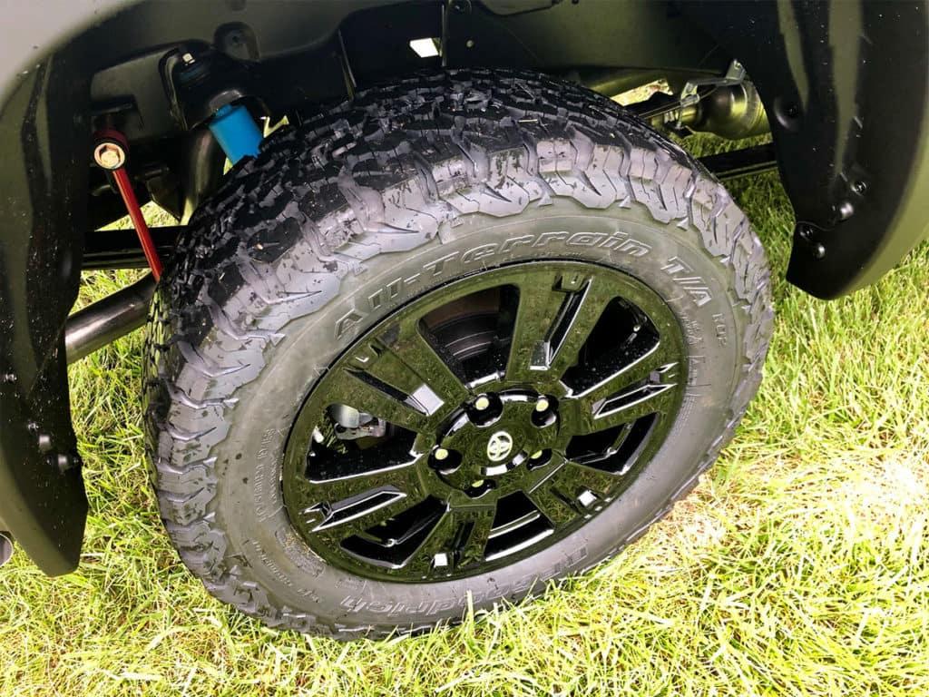 Tundra Dominator TRD Pro Black Wheels