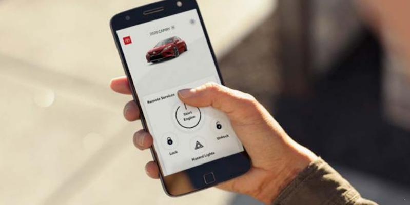 Toyota Remote Service Phone App