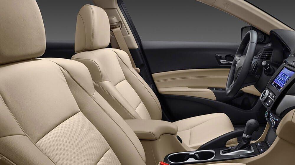 2017 Acura ILX front interior seats