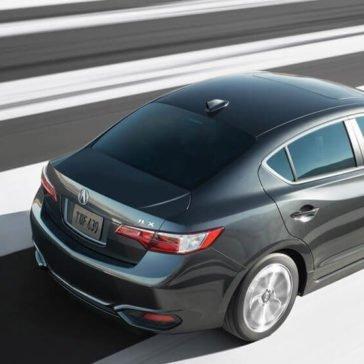 2017 Acura ILX black exterior