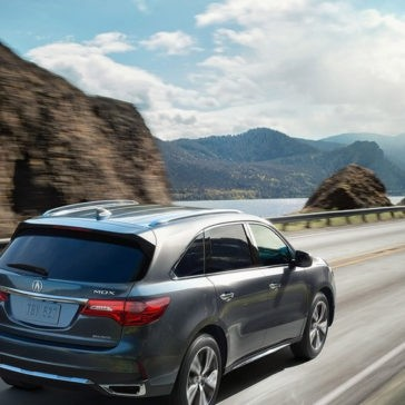 2017 Acura MDX rearview