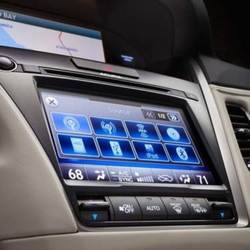 2017 Acura RLX technology features