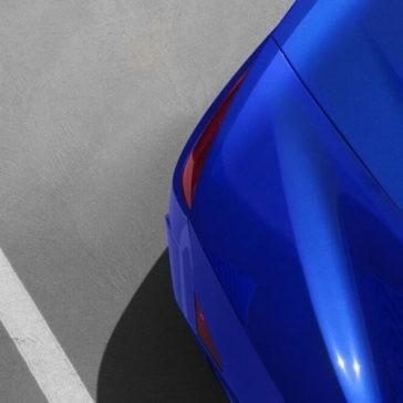2017 Acura NSX rear up close