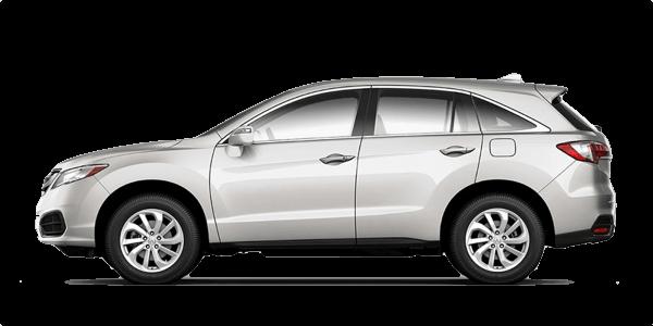 2018 Acura RDX white exterior