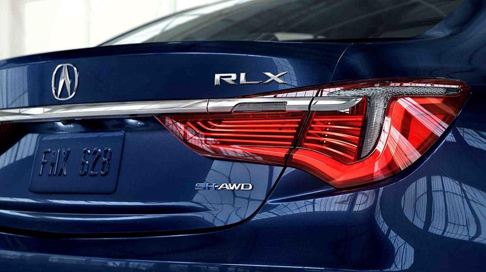 2018 Acura RLX rear view