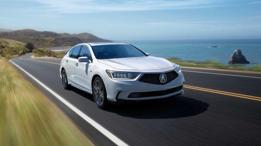 2018 Acura RLX front exterior